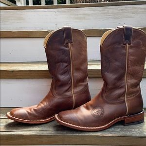 "Nocona Leather Boots ""Alabama Crimson Tide"""